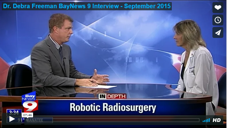 Dr. Debra Freeman on Bay News 9 Interview
